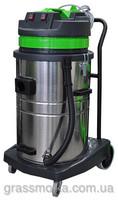 Профессиональный пылеводосос 2-х турбинный 70л. для сухой и влажной уборки .