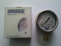 Манометр Idrobase 400 бар 1/4п (Италия)