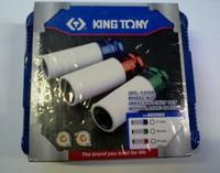 Набор ударных головок с пластиковой защитой 1/2  3 шт King Tony