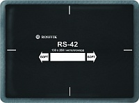 Пластырь кордовый с металокордом RS-42 ROSSVIK