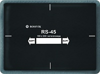 Пластырь кордовый с металокордом RS-45 ROSSVIK